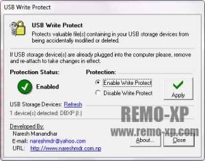USB Write Protect v1.10